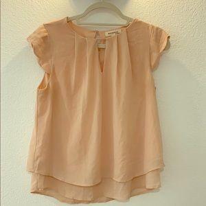 Moneteau blush blouse